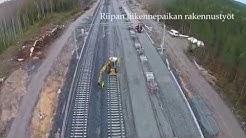 Seinäjoki-Oulu-ratahanke: kaksoisraiteen rakennus
