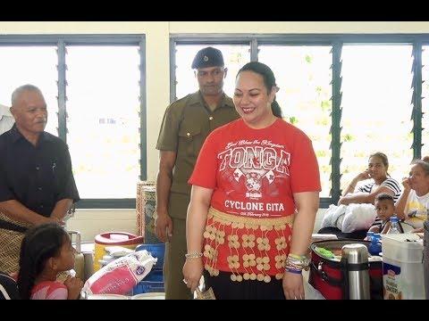 HRH Princess Angelika Lātūfuipeka Tuku'aho leads Kahoua disaster management preparations