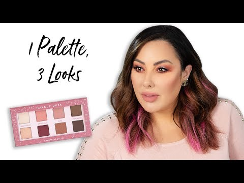 1 Palette: 3 Looks | Makeup Geek
