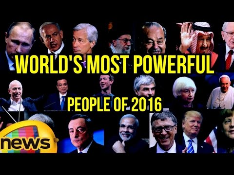 Top 20 Forbes List of World's Most Powerful People 2016 | Mango News