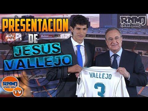 Presentación de Jesús Vallejo   Nuevo jugador Real Madrid (07/07/2017)