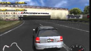 PS2 Gameplay: Driving Emotion Type-S