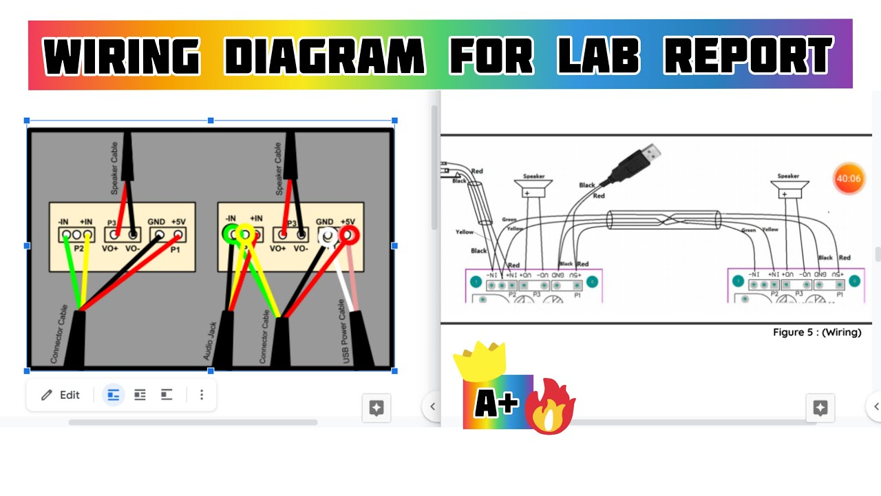 Visual Wiring Diagram For Lab Report
