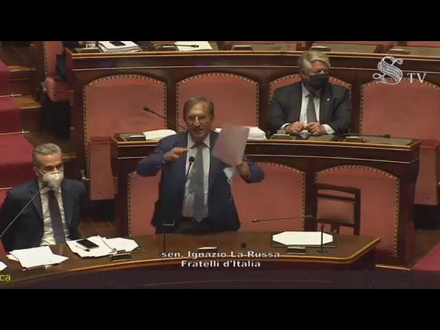 FdI Parlamento - L'intervento del Sen. La Russa su referendum e modifiche alla Costituzione