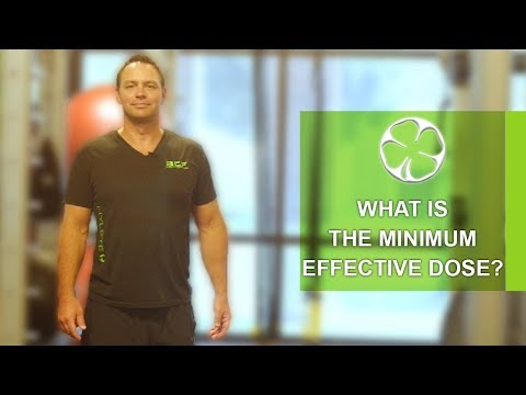 Omaha Fitness: Why You Should Exercise at the Minimum Effective Dose