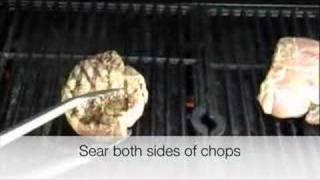 Smoked Iowa Pork Chops