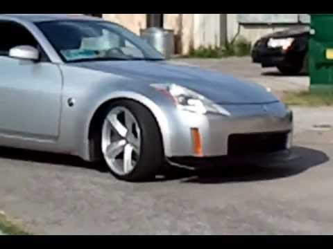 350Z on SRT8 wheels and Eibach Prokit Lowering Springs