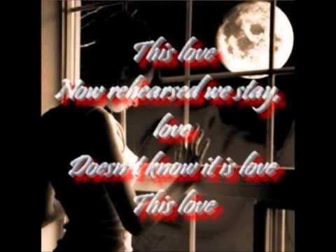 Craig Armstrong - This Love Lyrics By Gali.wmv