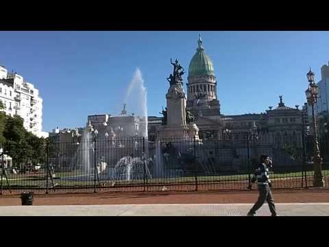 Plaza del Congreso - Buenos Aires, Argentina