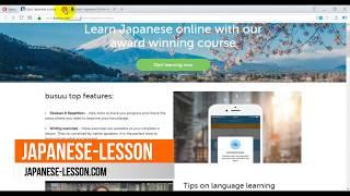 Learn Japanese Language Online - Top 7 useful websites