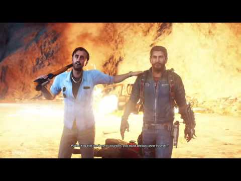 Just Cause 3 Xbox One Starting screens Nice Graphics