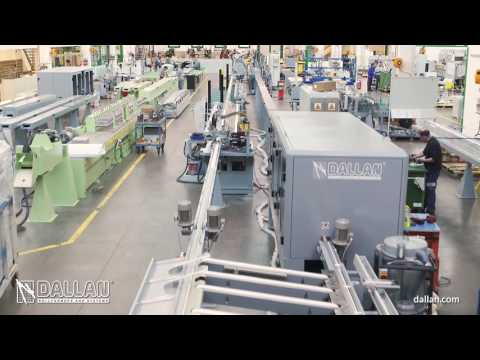 Roll Forming Production System For Rolling Shutter: High Speed DALLAN D618