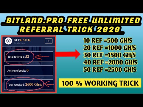 bitland.pro-unlimited-referral-trick-!-||-100-%-working-trick-||-●-earn-unlimited-bitcoin-●