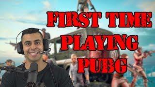 First Time Playing PUBG! | David Lopez