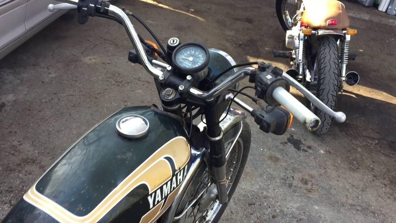 New restore project 1974 Yamaha Rs100 2 stroke single ...