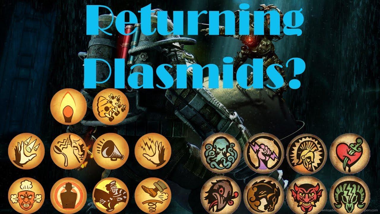 how to change plasmids bioshock