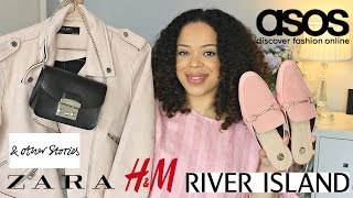 HUGE Collective Spring Haul 2017 | Zara | Asos | & Other Stories | Furla | Riverisland | H&M