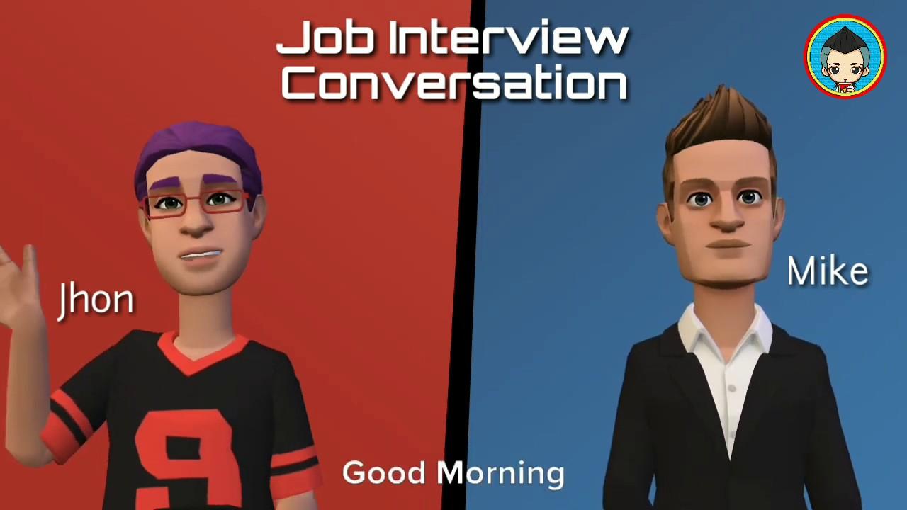 English Conversation - Job Interview | English Study ...