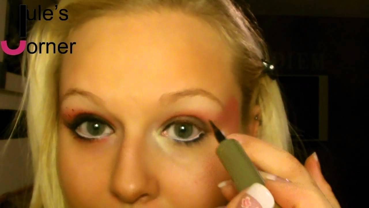 Marienkafer Make Up Tutorial Karneval Jule S Corner Youtube