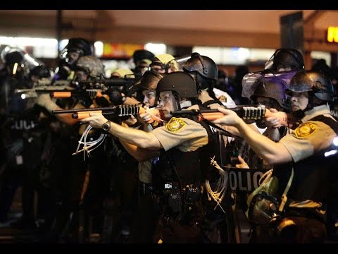Violence erupts in Ferguson as another young black man is killed
