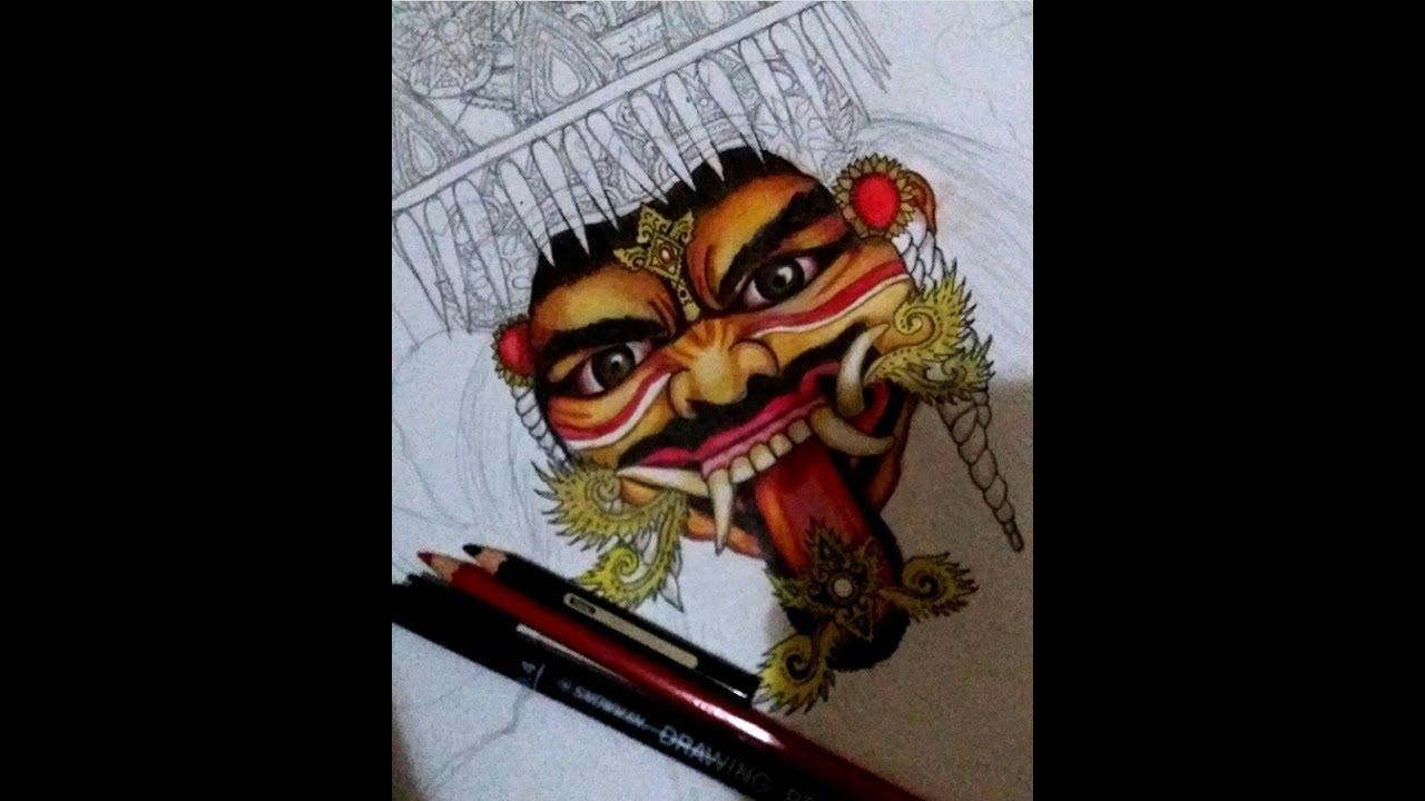 Galeri Sketsa Gambar Ogoh Ogoh Terbaru