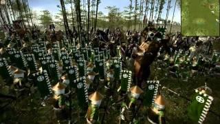 쇼군2 토탈워 소규모 전투 동영상 테스트