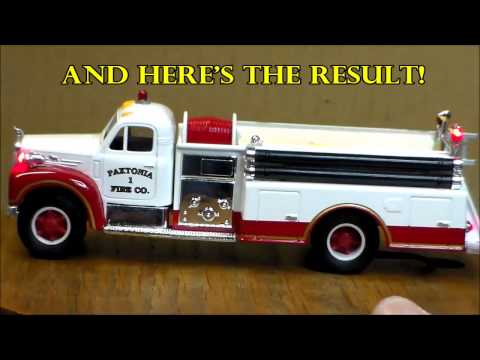 Pumper Model with LEDs