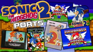 How Many Ports of Sonic 2 (1992) Exist? - Sonic The Hedgehog 2 Release History
