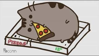 Cómo dibujar a Pusheen the cat PIZZA
