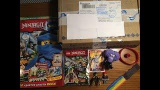 Посилки від Передплатників #1 Посилка від ALEKS , Журнал Lego NinjaGo і т. д