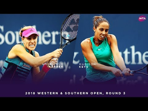 Angelique Kerber vs. Madison Keys | Western & Southern Open Round 3 | WTA Highlights