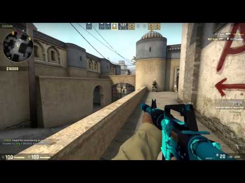Counter Strike GO: Perfect 16 - 0 CT Vs Expert Bots Dust II Competitive