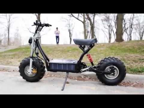 The Beast Electric Bike Scooter From Canada With Monster