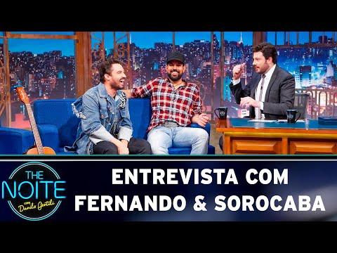 Entrevista com Fernando & Sorocaba   The Noite 080519
