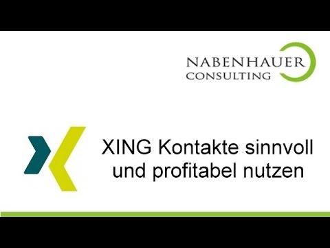 Xing - Neue Kontakte mit Xing - Das Xing Business Netzwerk richtig nutzen - Nabenhauer Consulting