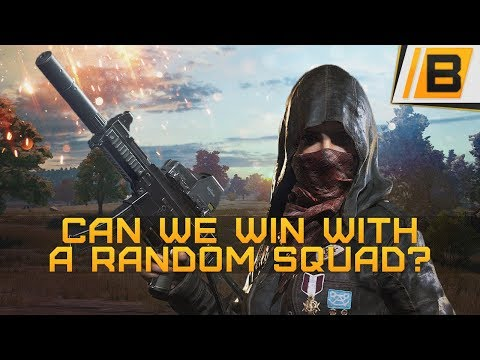 PUBG: Chicken dinner #6 - Random squad with a 12 year old american kid, Hilarious! - PUBG gameplay