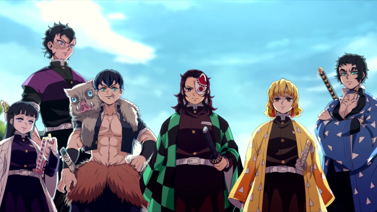 Hashira Introduction, but this is kamaboko squad |ANIMATION|