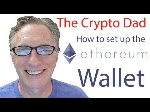 How to set up Ethereum Wallet