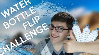 WATER BOTTLE FLIP CHALLENGE! -  SU ŞİŞESİ ÇEVİRMEK!