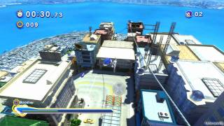 Sonic Generations PS3 - [Part 9 ~ City Escape ~ Act 01 / 02]