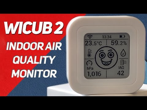 The WiCub 2 is an air quality monitor for data nerds like me