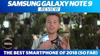 Samsung Galaxy Note 9 - the best smartphone of 2018 (so far)