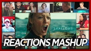 THE SHALLOWS | Official Trailer #2 | Reaction's Mashup (First Reaction's)