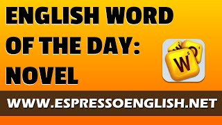 Gambar cover English Vocabulary Word of the Day: NOVEL