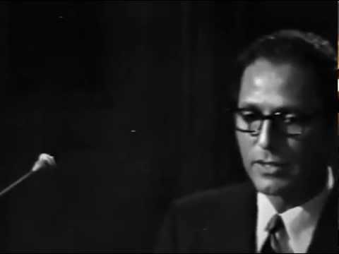 Tom Lehrer - The Irish Ballad - LIVE FILM From Copenhagen in 1967