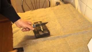 видео Ножи из стали х12мф