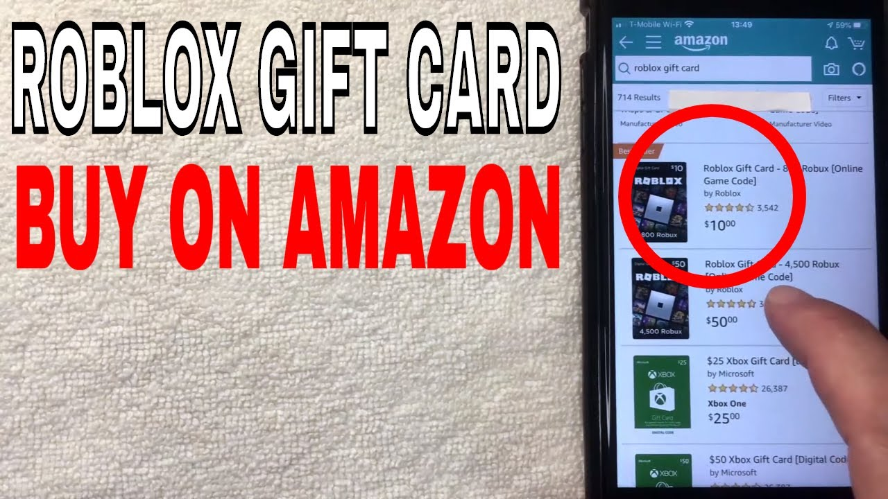 How To Buy Roblox Robux Gift Card On Amazon Youtube
