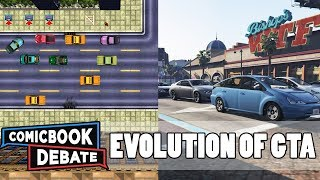 Evolution of Grand Theft Auto Games in 6 Minutes (2017)