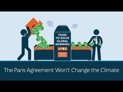 The Paris Climate Agreement Won't Change the Climate