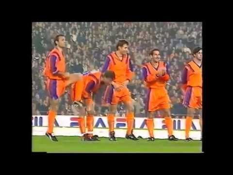 Partido homenaje al Dream Team de Johan Cruyff. FC Barcelona vs Dream Team. Año 1999